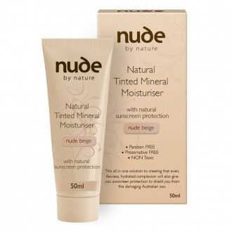 Nude By Nature Natural Tinted Mineral Moisturiser 50 mL