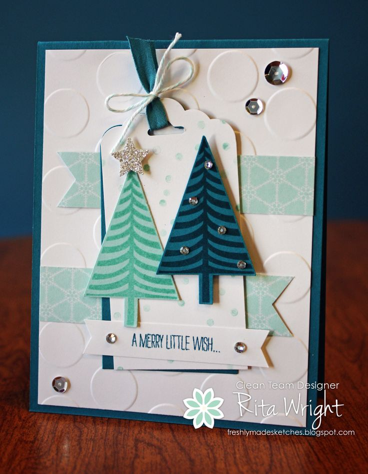 Rita Wright: Rita's Creations: Stampin' Up! Festival of Trees - 8/13/14