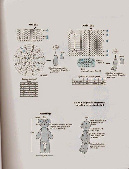 59 best amigurumi images on pinterest amigurumi patterns crochet teddy bears ccuart Image collections