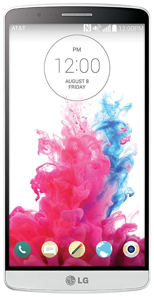 The LG G3 on Verizon Wireless somehow packs a world-beating screen and a huge battery into a slim, premium-feeling case, making it the most advanced phone on the market.