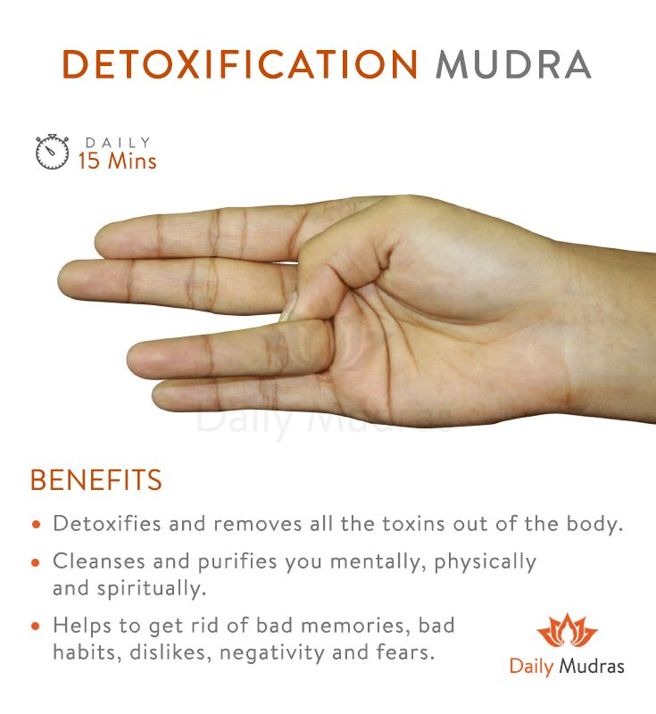 Cleanses all toxins From the body  #dailymudras #mudras #detoxificationmudra #cl… – Yoga/wörkaut