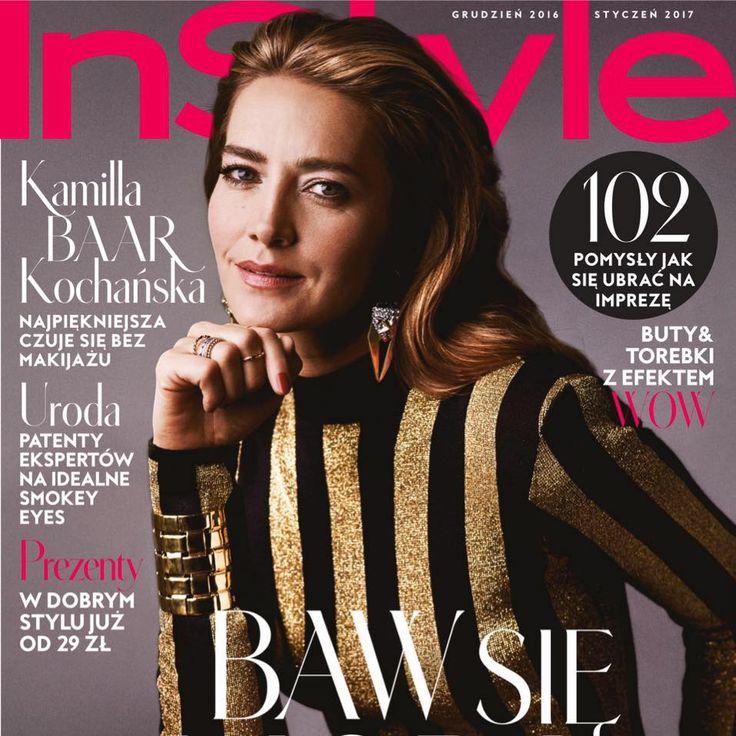 Kamilla Baar-Kochańska for InStyle Poland December 2016/January 2017