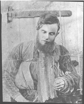 The Body of Bushranger (Australian outlaw) Joe Byrne, 1880