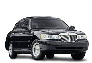 Why is Lincoln Town car a unique creation and how can you rent it?