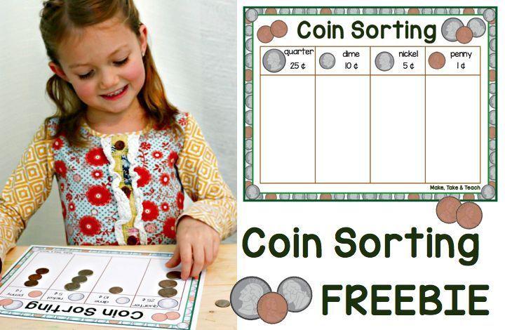Coin sorting FREEBIE!