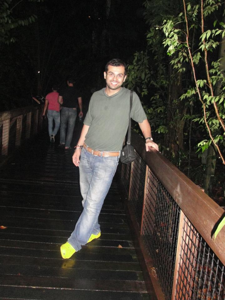 Our MD enjoys some wild sights and sounds at the Singapore zoo.