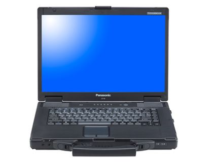 "Panasonic Toughbook CF-52 Mk3 i5 2.4GHz Windows 7 Pro 4GB 240GB SSD Solid State Drive Wi-Fi 15.4"" TFT Screen  £485+VAT"