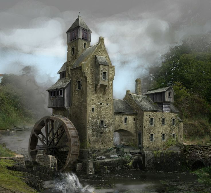 The old mill in greenest ended up being a trap laid by for Architecture fantastique