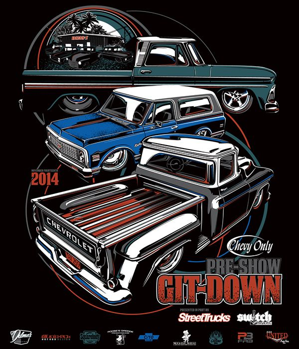 163 Best Car Show T Shirt Designs Images On Pinterest Drawings