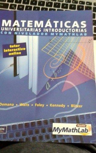 Matemáticas universitarias Libro de matemáticas financieras en buen estado-Pearson $ 100.00