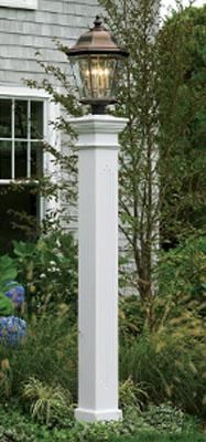 Roosevelt Pillar Post from Walpole Woodworkers. I would love this with a solar light!