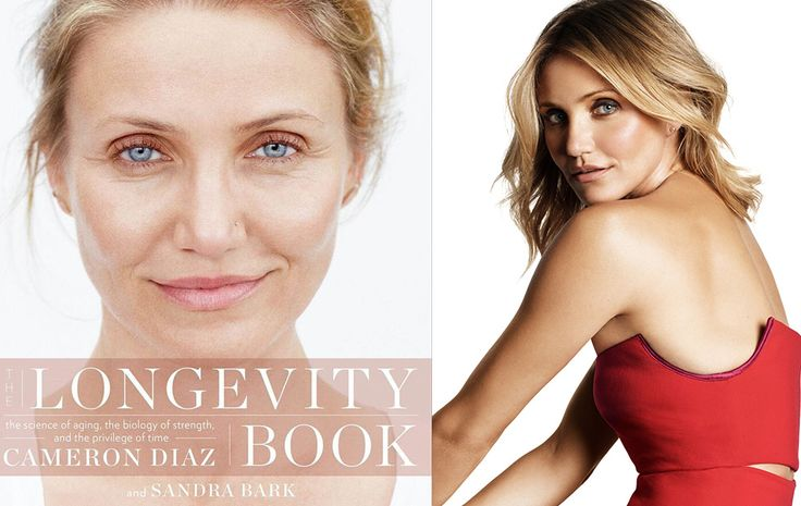 Cameron Diaz discusses her take on supplements, faith, mortality, and the unique cells of women. Find out what her book won't tell you.