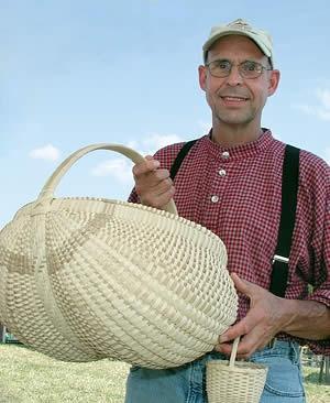 The Arts Center of Cannon County - White Oak Crafts Fair - Wonderful White Oak Basket