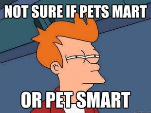 Futurama FryYess, Petsmart