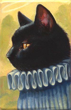 Kelly Vivanco - Art - Ruff Kitty