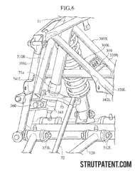 Patent: All terrain vehicle with double wishbone