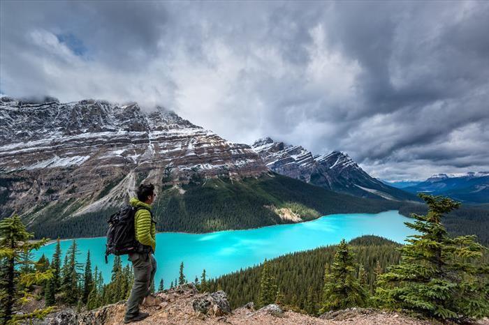 Espectaculares Montañas Rocosas En Canadá