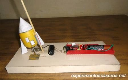 Cohete Casero (de alcohol) #juguetes #diy