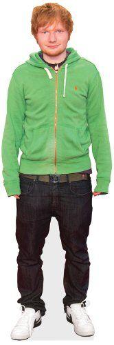 Celebrity Cutouts - Sagoma in cartone a figura intera di Ed Sheeran Celebrity Cutouts http://www.amazon.it/dp/B00BEVD0E2/ref=cm_sw_r_pi_dp_G-J2tb0EPEC11E86