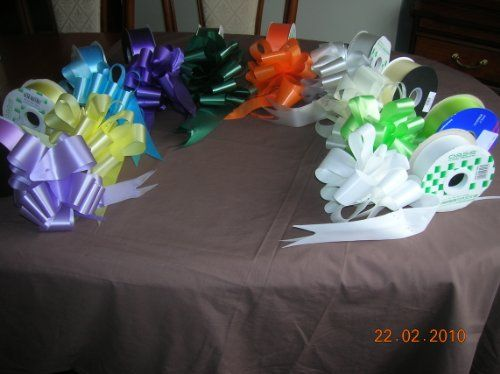 From 6.07:20.mixed Pull Bows 31mm Weddinggift Hampers Foral Use | Shopods.com