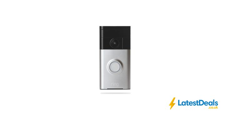 RING Video Doorbell - Satin Nickel, £99 at Currys PC World