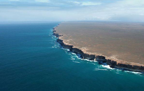 Nullarbor cliffs, South Australia coast