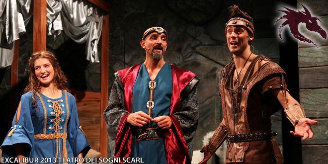 Il Teatro dei Sogni porta in scena EXCALIBUR musical con un cast giovane ma promettente. Con loro i due grandi performers gipeto e Floriana Monici