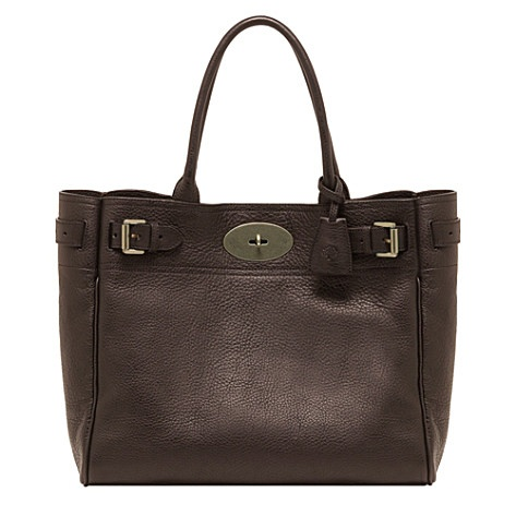 MULBERRY Bayswater tote - Chocolate
