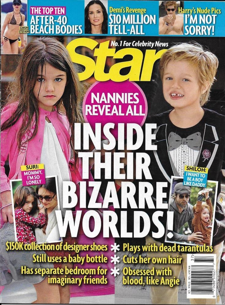 Star magazine Celebrity kids Demi Moore After 40 beach bodies Heidi Klum Seal