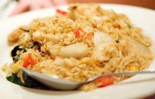 un mondo di ricette: cucina thailandese - riso fritto