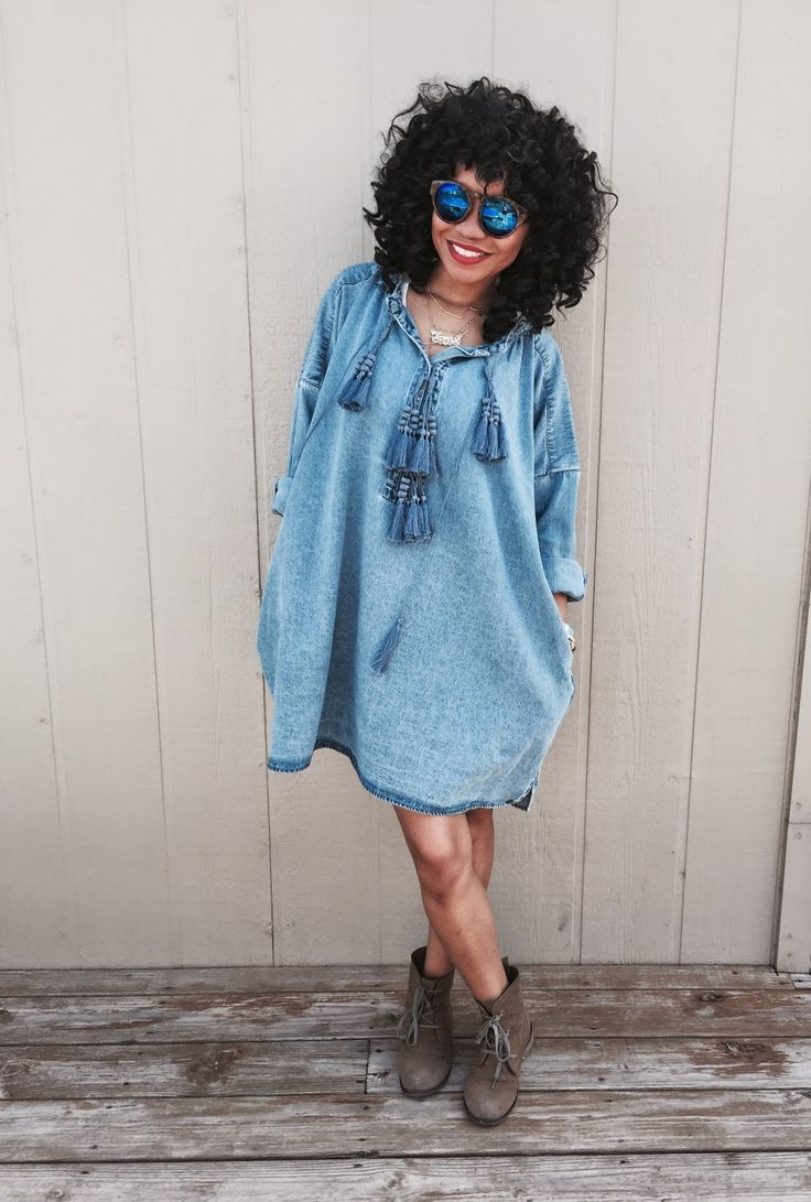 Made Alike Style: That Jean Dress!