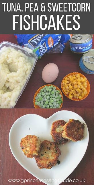 .Cooking With Kids Tuna and Vegetable Fishcakes
