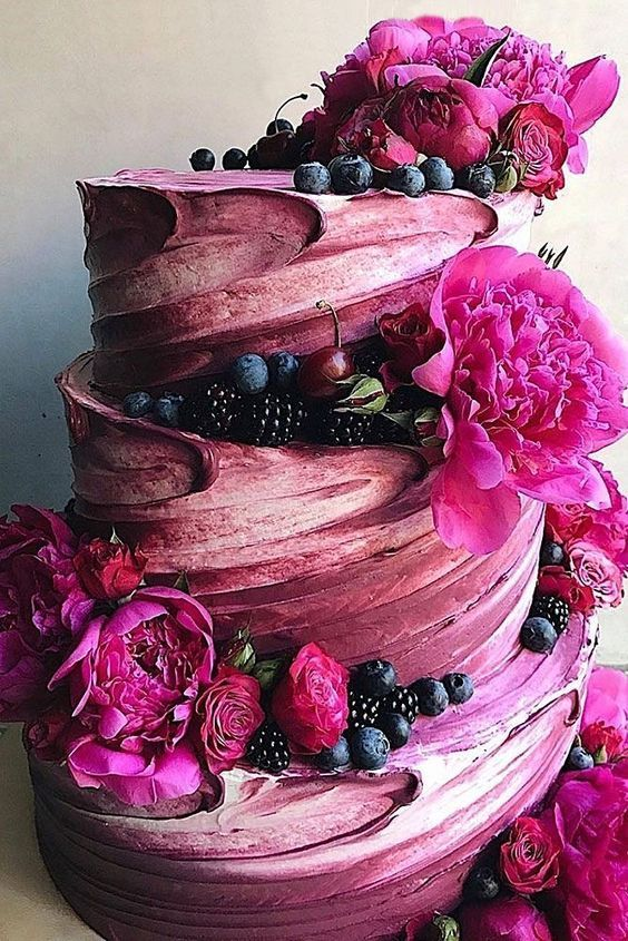 42 Spectacular Buttercream Wedding Cakes | Wedding Forward