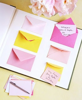 Bride to Bride: 15 Unique Wedding Guest Book Ideas...you could even use some of them for shower guest books