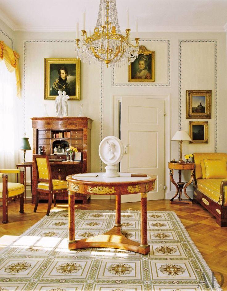 Popular Living Room and Louis R my de la Fosse in Darmstadt Germany