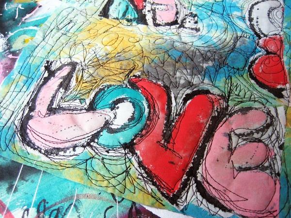 free motion graffiti