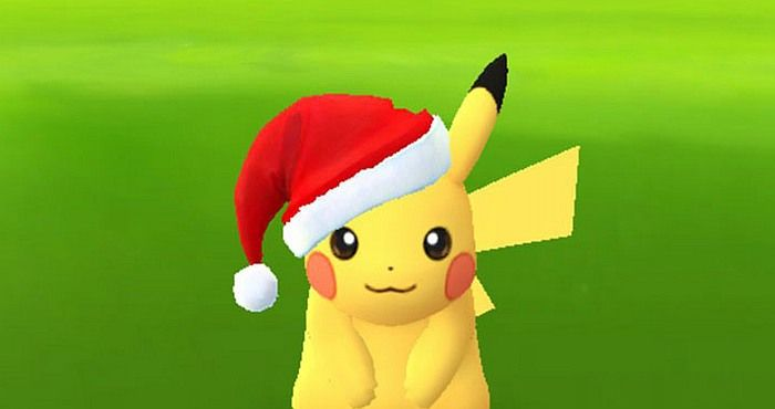 Download Pokémon Go game and Discover Pikachu with Santa's Hat - http://www.downloadmessenger.org/download-pokemon-go-game-and-discover-pikachu-with-santas-hat