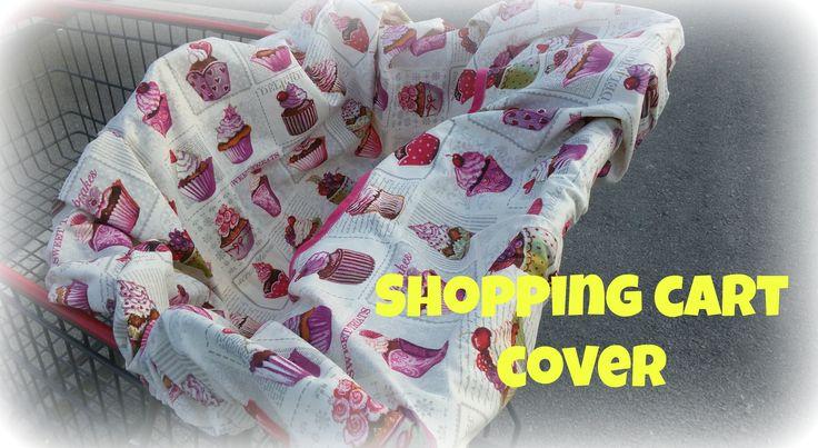 Κάλυμμα για το καρότσι του σουπερ μάρκετ. Shopping cart seat cover