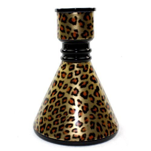 "GSTAR Beast Series: 17"" 2 Hose Hookah Complete Set w/ Optional Carrying Case - Pick Your Animal Print"