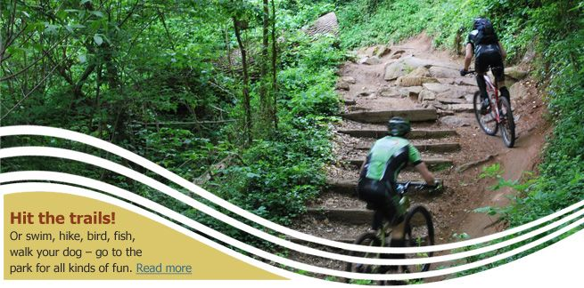 James River Parks and Belle Isle - Take a Ride! Or swim, hike, bird, boat, walk your dog - go to the park for all kinds of fun. Read more.