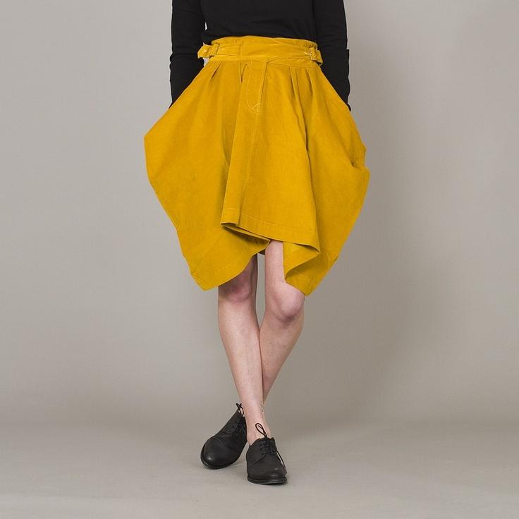 perks and mini skirt