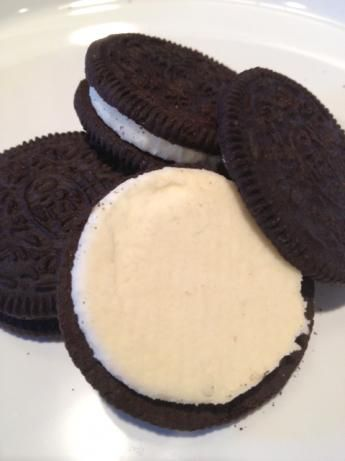 Recipe for Oreo filling. Yep, just the best part.