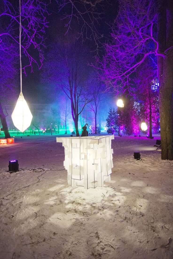 Lantern Park by several artists at the Old Church Park. Photo: Lauri Rotko.