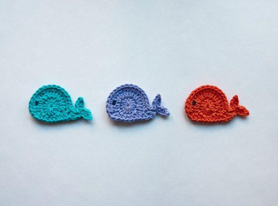 Ballenas amigurumi