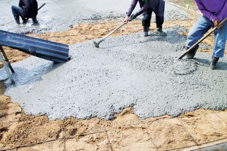 Concrete mix design - slab on grade