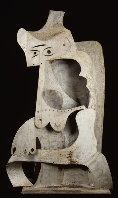 Pablo Picasso – Woman with Hat, 1961, Sheet metal, National Museum of Modern Art - Georges Pompidou Center, Paris