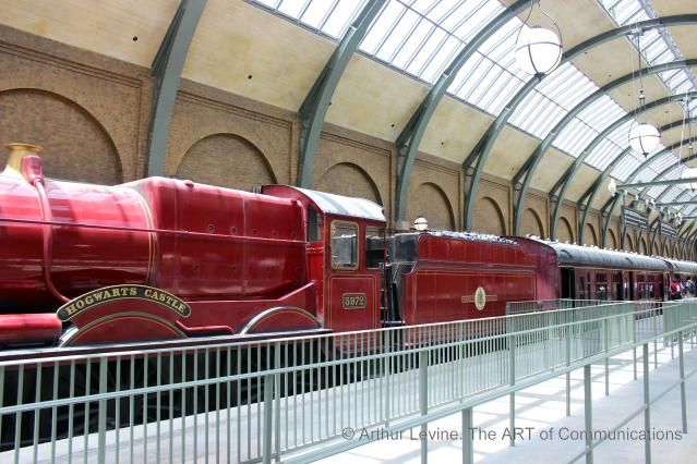 All Aboard, Muggles. Review of Universal's Hogwarts Express Train Ride: The Hogwarts Express looks and feels note-perfect.