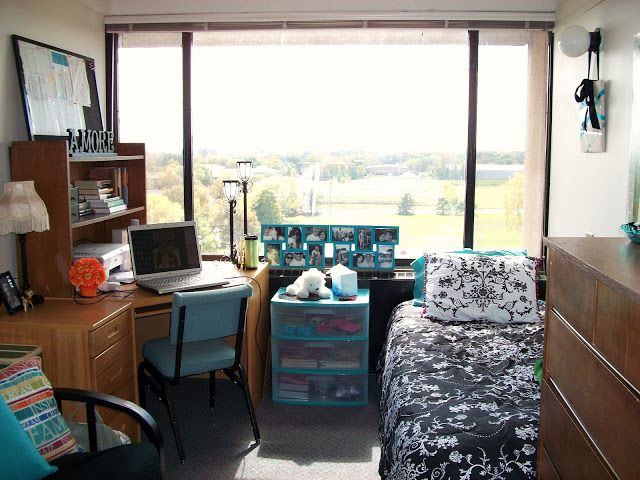 Really cute set up dorm room trends pinterest Dorm room setups