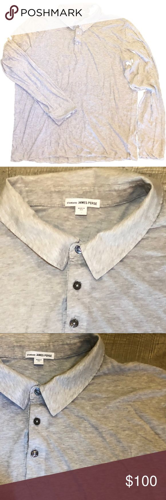 Revised Standard, Polo Homme, Blanc (White), X-LargeJames Perse
