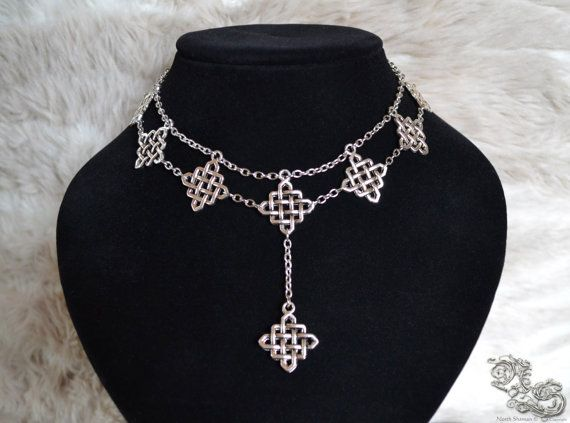Necklace The Celtic Queen    viking medieval North Shaman